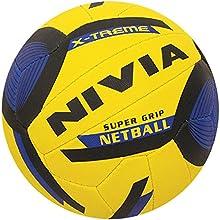 Nivia cosida mano de la bola neta del partido, 18 Paneles - Tamaño 5 Elegir color