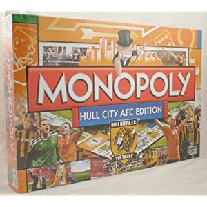Monopoly Hull City AFC edition!