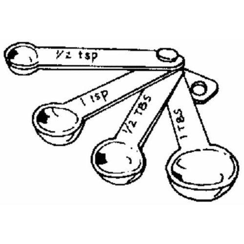 Norpro 3041W 4-piece Measuring Spoon Set | Best Measuring ...