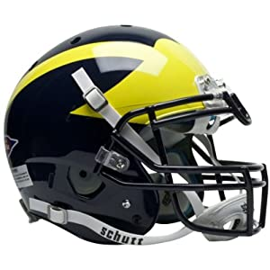 MICHIGAN WOLVERINES Schutt AiR XP Full-Size AUTHENTIC Football Helmet by ON-FIELD