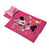 Minds In Sync Deluxe Memory Foam Nap Mat Set, Minnie Mouse/Pink