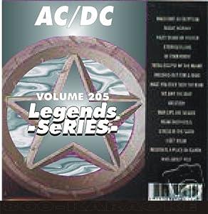 AC/DC Karaoke CD+G Legends #205 16 Song Disc