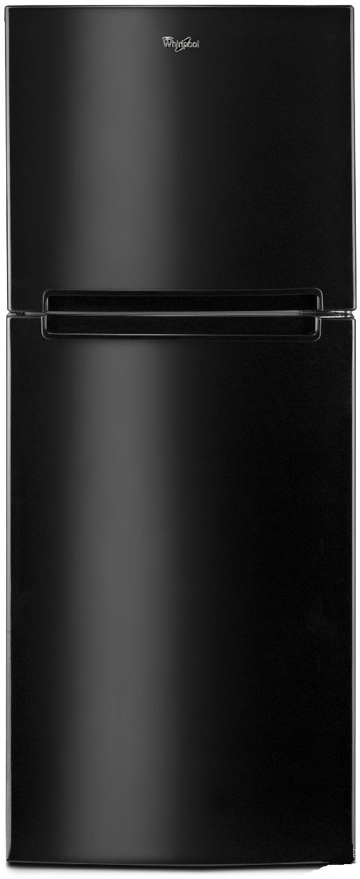 Whirlpool WRT111SFDB 10.8 Cu. Ft. Black Top Freezer Refrigerator