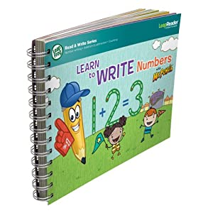 LeapFrog LeapReader Learn to Write Numbers with Mr Pencil Book (Englische Sprache)