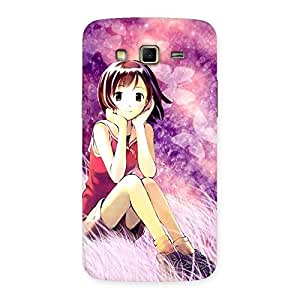 Ajay Enterprises Extant Girl Thinking Back Case Cover for Samsung Galaxy Grand 2
