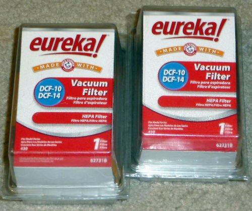 2 EUREKA ORIGINAL DCF-14 & DCF-10 HEPA VACUUM FILTERS (Hepa Filter Dcf 10 14 Eureka compare prices)