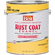 Rust Oleum 1309 Do it Best Rust Control Enamel-BRT YELLOW RUST ENAMEL