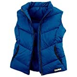 TAIGA Cypress – Women's Zip European Goosedown Down Vest, Navy Blue, MADE IN CANADA 700