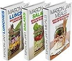 Mason Jar Meals, Salads & Lunches Box...