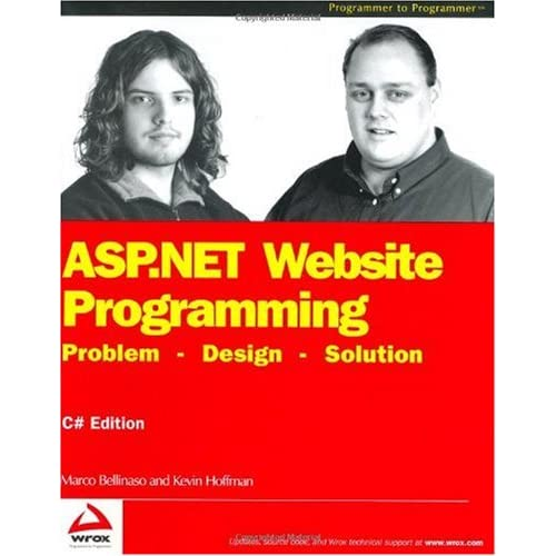 ASP.NET Website Programming: Problem - Design - Solution, C# Edition