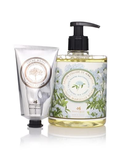 Panier des Sens Firming Sea Fennel Liquid Soap & Hand Cream, Set of 2