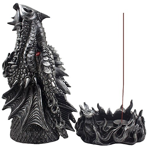 Mythical Fire Breathing Dragon Incense Holder & Burner Statue Game of Thrones (House Of Cards Season 2 Cast compare prices)