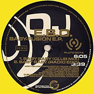 DJ E.B.O. - Baby-Fusion E.P.