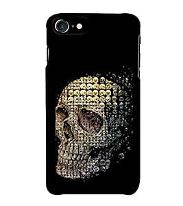 HiFi Designer Phone Back Case Cover Apple iPhone 6S :: Apple iPhone6S ( Deadly Mini Skull Psyed )