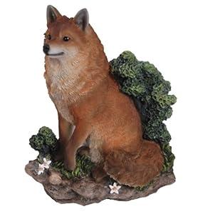 Vivid Arts Sitting Fox Plaque by Vivid Arts Ltd