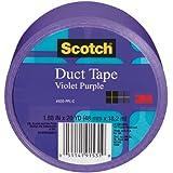 Scotch Duct Tape, 920-PPL-CA, 1.88-Inchx20-Yard, 48mmx18, 2m, Violet Purple