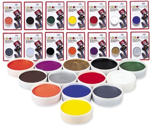 Costumes For All Occasions Dd256 Color Cup Carded Wlfmn Brwn - 1