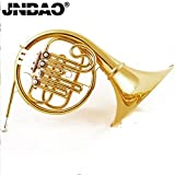 JINBAO Professional 4 Keys Bb single French horn with Case and accessory Click to see more choice free shipping