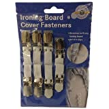 Ironing Board Cover Fasteners 4pk Clips