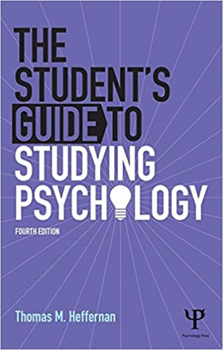 Image: Cover of The Student's Guide to Studying Psychology