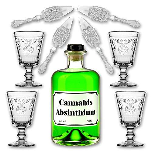 cannabis-absinthium-05l-55-vol-alc-4x-absinth-glas-versailles-200ml-4x-absinth-loffel-antique