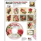 ScrapSMART – Vintage Rose Garden Software Collection (CDROSE163)