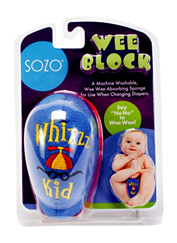 Sozo Baby-Boys Newborn Weeblock Whizz Kid, Blue/Yellow/Red, 0-6 Months