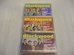 3 Audio Music Cassette Tape Set of The Blackwood Brothers Quartet With Cecil Blackwood GOSPEL CLASSICS FROM THE 1950's, 1960's and The 1970's. by Crystal Incorporated.