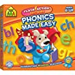 School Zone Publishing SZP09064 Phonics Made Easy Flash Action Software