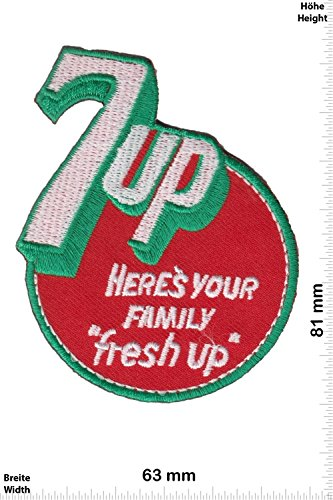 patches-7up-heres-your-family-fresh-up-us-drinks-brands-vintage-iron-on-patch-applique-embroidery-ec