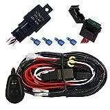 Barra de Luz LED Mictuning 30 Amp con cables y botón de encendido y apagado, 12 pies
