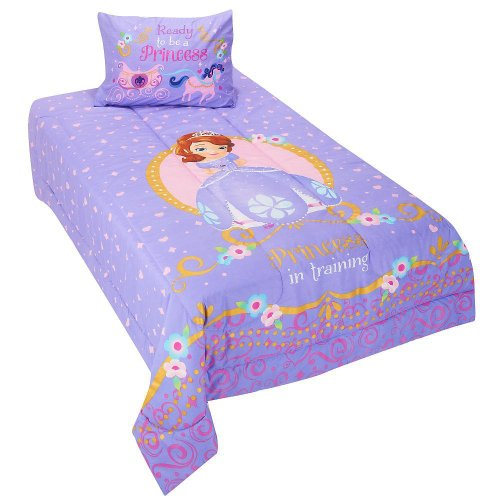 Disney Sofia The First Twin Comforter Set front-87426