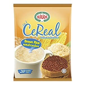 Super Instant 4 in 1 Cereal Brown Rice 600g. (30g.x20 Sachets)