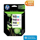 HP 940 Tri-color Combo Inkjet Cartridge (CN065FN)