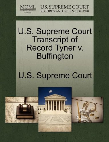 U.S. Supreme Court Transcript of Record Tyner v. Buffington
