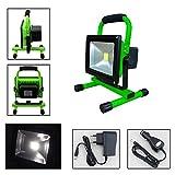 VINGO®20W LED Strahler IP65 Grün Arbeitsleuchte...