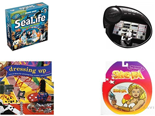 [Children's Gift Bundle - Ages 6-12 [5 Piece] - SeaLife Board Game - Finger Beats Mixer Toy - Sleeping Beauty Prince Philip Bean Bag Plush Toy 9
