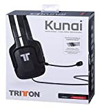 Kunai PC Stereo Gaming Headset - Black (Mac/PC DVD)