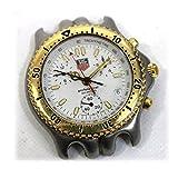 [オメガ]OMEGA TAGHEUER タグホイヤー セルシリーズ クロノグラフ プロフェッショナル200M メンズ腕時計 SS×GP クォーツ CG1120-0 [中古]