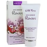 Wild ferns New Zealand's Romantic Flowers Hand and Nail Crème with Manuka Honey, 100ml