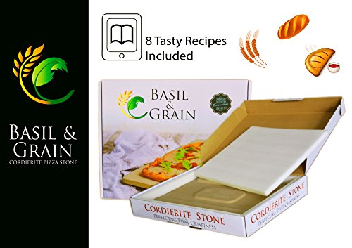 Rectangle Pizza Stone for Crispy Crust - 14