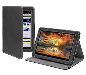 Cover-Up Motorola Xoom Family Edition 10.1-inch Tablet Version Stand Cover Case - Black at Electronic-Readers.com