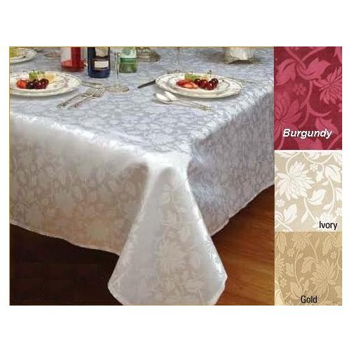 European Floral Design Tablecloth Rectangle