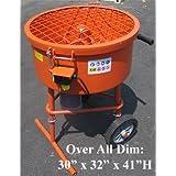 Industrial 120L Cement Concrete Mortar Mixer