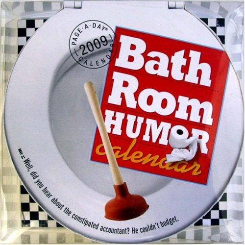 Bathroom Humor Page-A-Day Die-Cut Calendar 2009