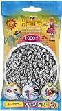 HAMA 207-17 - Perlen grau, 1000 Stück hergestellt von Hama