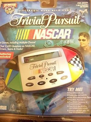 NASCAR Trivial Pursuit Hand-held Game [Electronics] - 1