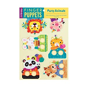 Party Animals Finger Puppets