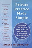 img - for Private Practice Made Simple: Everything You Need to Know to Set Up and Manage a Successful Mental Health Practice book / textbook / text book