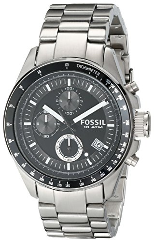 fossil men s ch2600 decker chronograph silicone watch. Black Bedroom Furniture Sets. Home Design Ideas